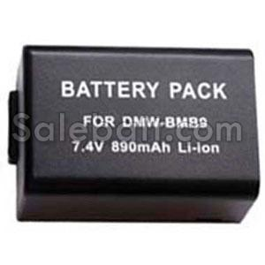 7.4V, 890mAh Panasonic DMW-BMB9GK replacement battery