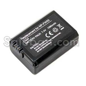 7.4V, 1080mAh Sony NEX-3D replacement battery