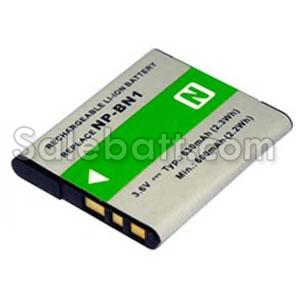 3.6V, 630mAh Sony Cyber-shot DSC-T110 replacement battery