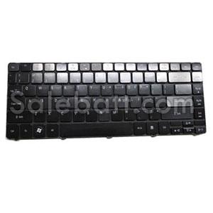 Black Acer Aspire 4551 keyboard