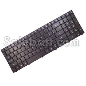 Black Acer Aspire 5820 keyboard