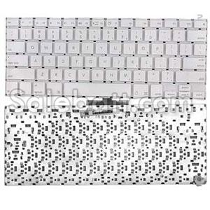 White Apple Macbook 13 inch keyboard