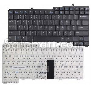 Black Dell XPS M1710 keyboard