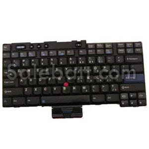 Black Lenovo ThinkPad R50 keyboard