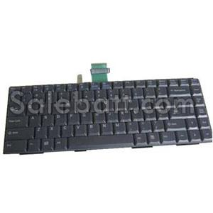 Black Sony KFRGBA028C keyboard