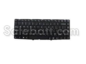 Black Sony VPCEA27FL/P keyboard
