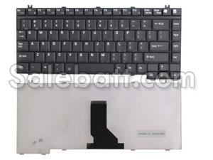 Black Toshiba Tecra A4-158 keyboard