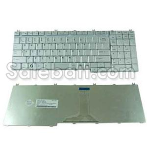 Silver Toshiba Satellite P300D-12D keyboard