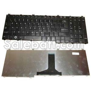 Black Toshiba Satellite L655D-12K keyboard